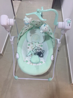 Used Baby swing use only for 1 week.. in Dubai, UAE