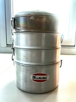 Used Aluminium momo steamer in Dubai, UAE