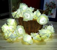 20 LED Rose flowers for home decoration