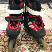 Used Roller skates - RED in Dubai, UAE