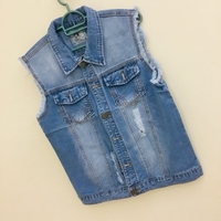 Used Jean jacket New size L in Dubai, UAE