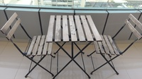 Used Patio table and 2 chairs in Dubai, UAE
