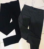 Used 2 leggings  1 blk/ 1 gray Medium size  in Dubai, UAE