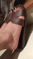 Used Next brown slip on shoes, size 37 in Dubai, UAE