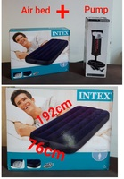 Used Intex air bed + pump (new in Dubai, UAE
