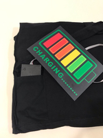 Used NEW LED T-shirt Size M color Black. in Dubai, UAE