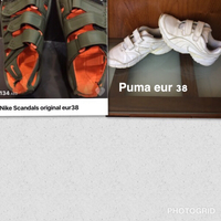 Used Nike floaters  + free Puma  in Dubai, UAE