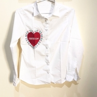 Used White Embellished Blouse in Dubai, UAE