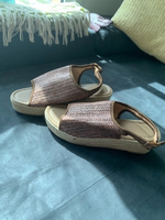 Used Casual peep toe weaving Sandals Brian 38 in Dubai, UAE