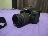 Used DSLR Canon 750D under warranty in Dubai, UAE