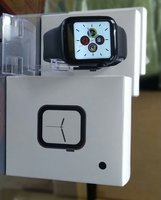 Used Apple replica smart watch w34 black in Dubai, UAE