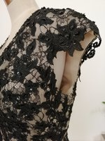 Used Brand new lace EVENING dress in Dubai, UAE