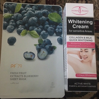 Used Whitening cream and face mask sheet in Dubai, UAE