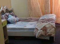 Used Master bed with mattress in Dubai, UAE