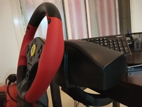 Used Thrustmaster ferrari racing wheel Red Le in Dubai, UAE