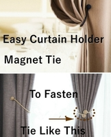 Used Magnetic curtain holder 6 pcs in Dubai, UAE