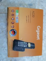 Used Gigaset Cordless phone with box in Dubai, UAE