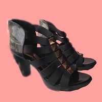 Used Catwalk women's black gladiator in Dubai, UAE
