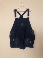 Used NEW Denim Dungaree Shorts Overall 5XL in Dubai, UAE