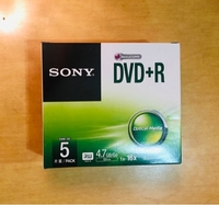 Used 5Pcs in Box (New) Sony DVD+R in Dubai, UAE