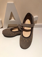 Used Ballerina shoes suede size 34 Beige  in Dubai, UAE