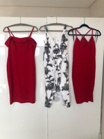 Used 3 for 1 Bebe dresses US6 new! in Dubai, UAE