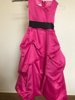 Used Pink Dress With Black Belt in Dubai, UAE