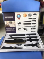 Used Knife set TOPFANN in Dubai, UAE