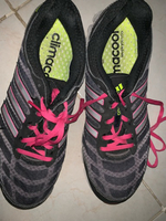 Used Black and pink adidas trainers  in Dubai, UAE