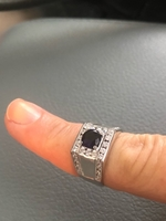 Used Men's  pure silver ring. New and unused  in Dubai, UAE