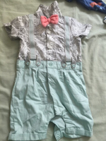 Used MAMAS&PAPAS jumpsuit 3-6m boy in Dubai, UAE