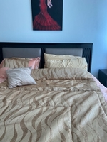 Used Bed king size frame and mattress in Dubai, UAE