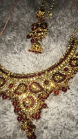Used Gorgeous Indian necklace/headpiece set in Dubai, UAE