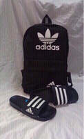 Used Offer deal: Adidas backpack&slippers 44 in Dubai, UAE