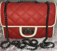 Used Im selling small red shoulder bag  in Dubai, UAE