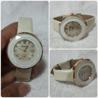 Used New amazing biege coraline watch for her in Dubai, UAE