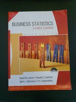 Used Business Statistics Book in Dubai, UAE
