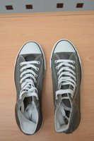New All Star Converse Shoes (Grey, 41)