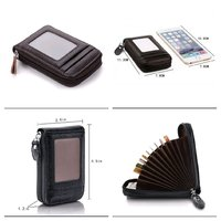 2 pcs leather card holders