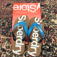 Used Original Brand New Superdry medium Slipper For Sale. in Dubai, UAE