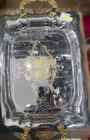Used Royal Quality Serving Tray golden handle in Dubai, UAE
