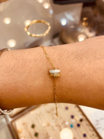 Used Braclet 18k solid gold in Dubai, UAE