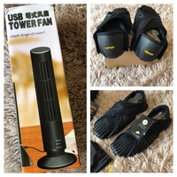 Used Furoshiri shoes size 42 & USB Fan black in Dubai, UAE