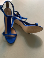 Used NEXT Royal Blue Strappy Heels in Dubai, UAE