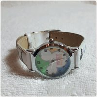White fabulous Mickey mouse watch