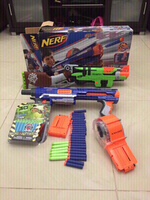2 Nerf gun with 50 bullets
