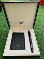 Used Mont blanc wallet and pen in Dubai, UAE