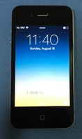 Used iPhone 4 with charger ^ in Dubai, UAE
