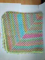 Used Handmade crochet baby blanket in Dubai, UAE