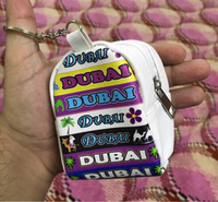Used Small Beautiful Keychain Pouch in Dubai, UAE